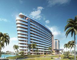 3D Hotel building 004