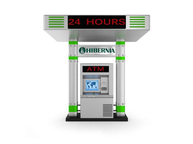 atm cash machine 3d model max obj mtl 3ds fbx c4d lwo lw lws 1