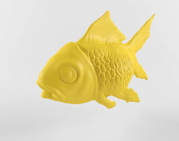 3D Scanned Goldfish