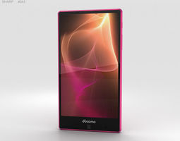 Sharp Aquos Zeta SH-01H Pink 3D model
