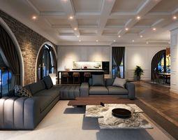 3D model VCTT Livingroom