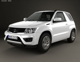 3D Suzuki Grand Vitara 3-door 2012