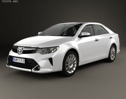 Toyota Camry Elegance Plus CIS 2014 3D model