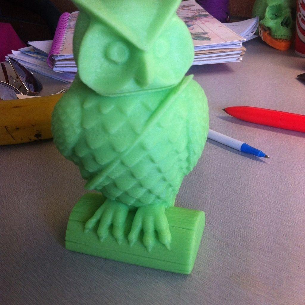 Mail Owl Free 3D Model 3D Printable STL