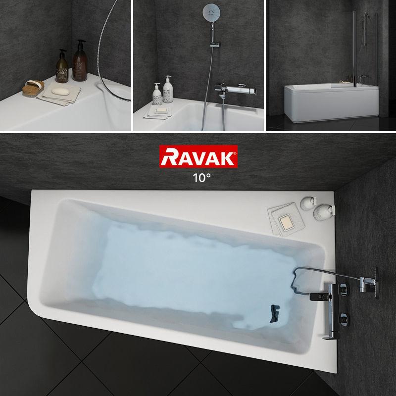 3D photoreal Bath Ravak 10 | CGTrader