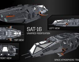 Space-Atmospheric Transport SAT-16 Unarmed modification 3D