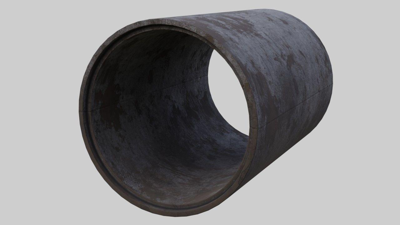 Concrete Pipe 1B
