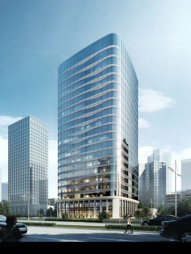 skyscraper business building 005 3d model max tga 1