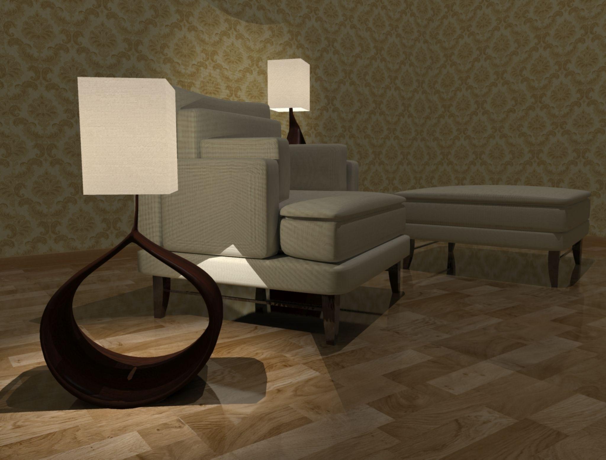 Resting Room 3d Model Max