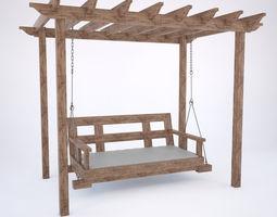 exterior 3D Garden swing