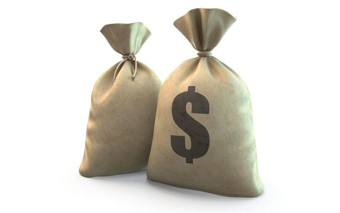 Money bag 3D asset | CGTrader