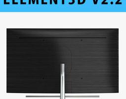 E3D - Samsung QLED Q7F 75 Inch 4K TV 3D