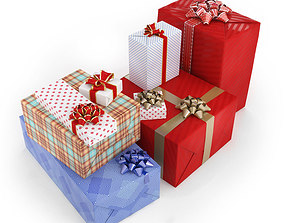 gift Gifts in boxes 3D