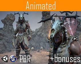 3D asset Character Orc Ursag