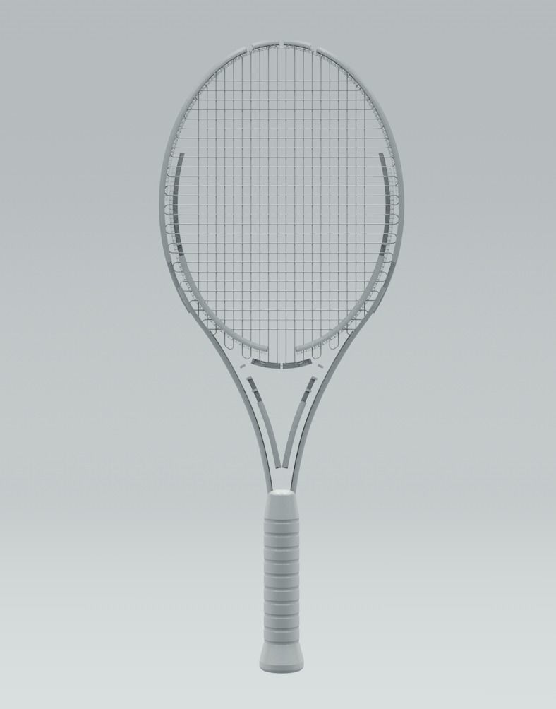 Tennis Racquet Architectural Space 3d Model Cgtrader