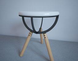 Illusive chair 3D