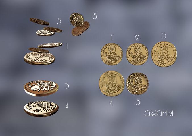Ancient coins set