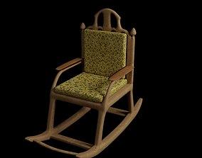 3D model Rocker Chair furniture
