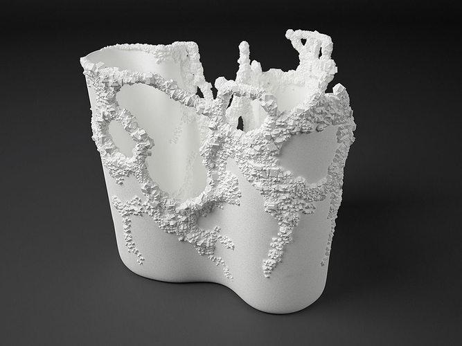 crystalline 3d model stl 1