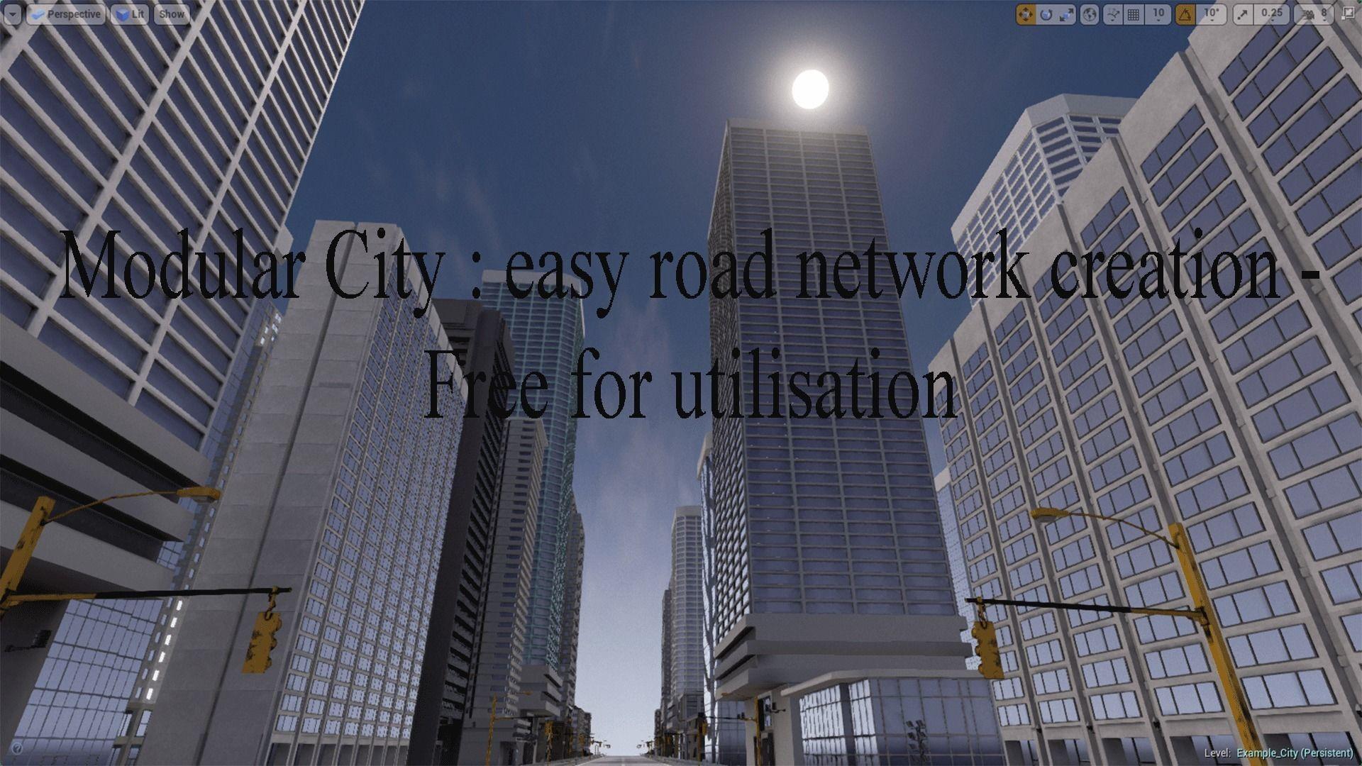 road network creator