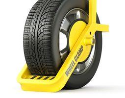 3D Wheel Clamp