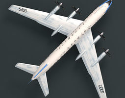 3D Tupolev Tu-114