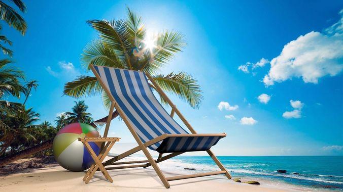 3d Sling Folding Beach Chair Cgtrader