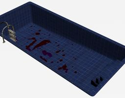 3D asset Swimming Pool -Blood Stained-