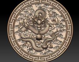3D dragon traditional