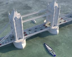 London Bridge 3D model