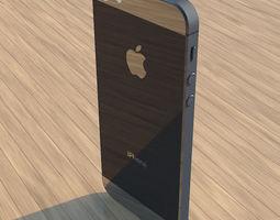 electronics 3D model iPhone 5s