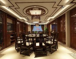 3D model Family - kitchen - restaurant 299
