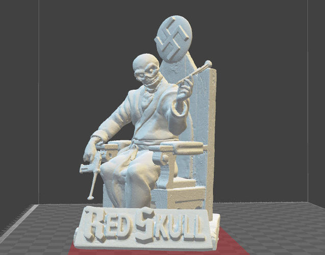 Red Skull Marvel Comics Miniature Model Cgtrader