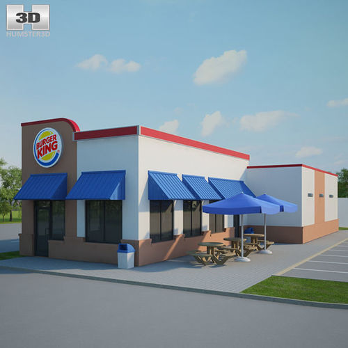 Burger King Restaurant 01