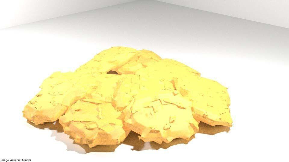 Fastfood - Nuggets 3D model | CGTrader