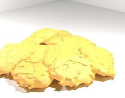 Fastfood - Nuggets 3D model