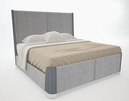 Double bed velvet 3D