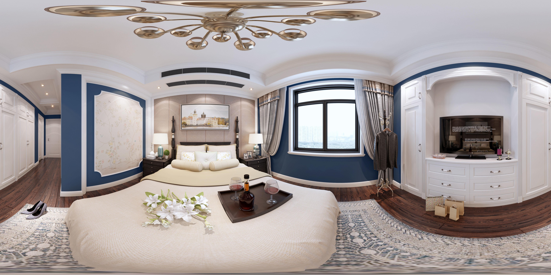 3D model American style Bedroom | CGTrader