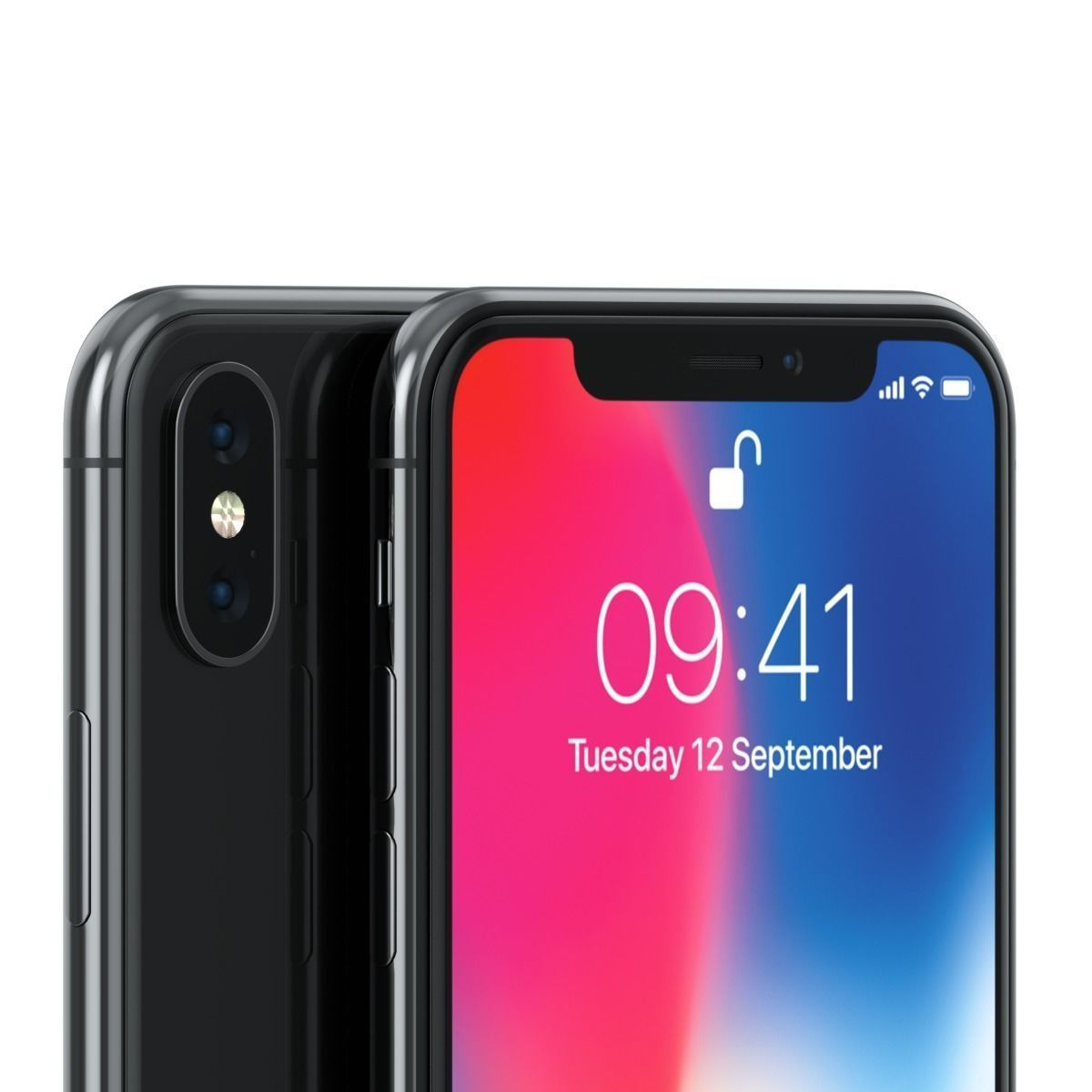 4e5896782f774f 3D mobile Apple iPhone X model | CGTrader