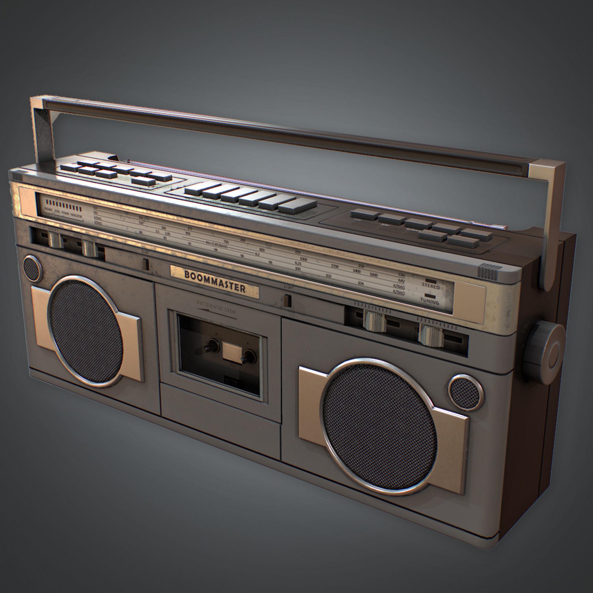 80s - Boombox Retro