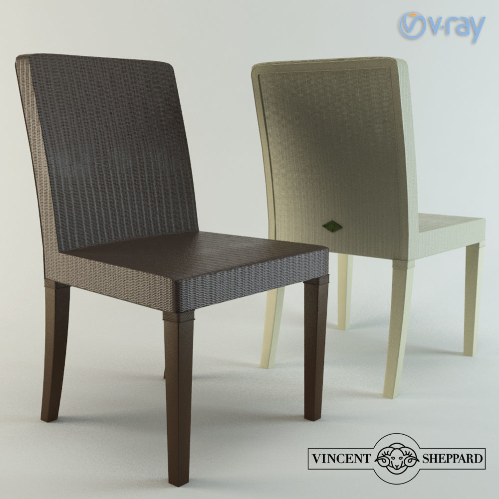 Vincent Sheppard Chair 3d Model Max Obj Mtl Mat 1 ...