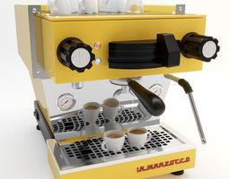 3D model La Marzocco coffee machine linea mini