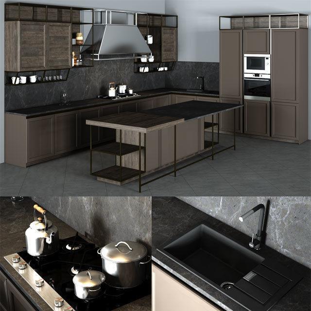 Frame Snaidero Kitchen Furniture