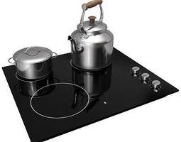 3D Ikea Lagan Cooking Hob cookinghob