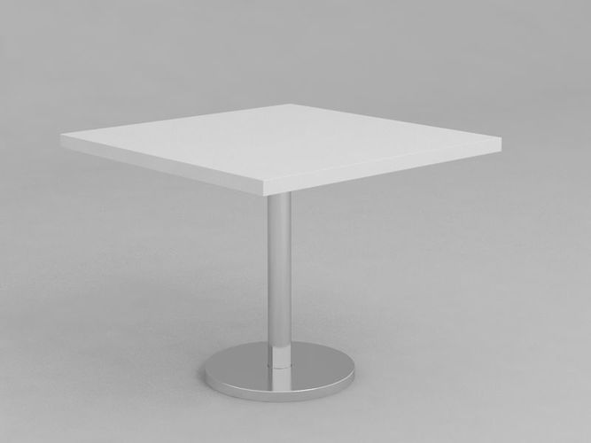 Zenith Table Square 3d Model Max Obj Mtl 1