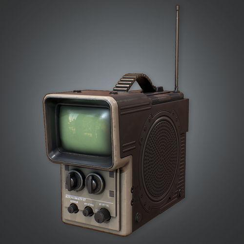 80s - Portable Television