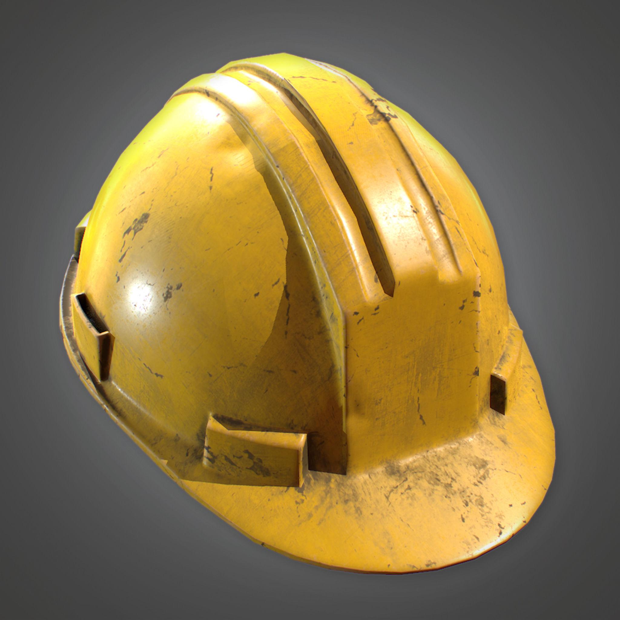 CON - Hard Hat - PBR Game Ready
