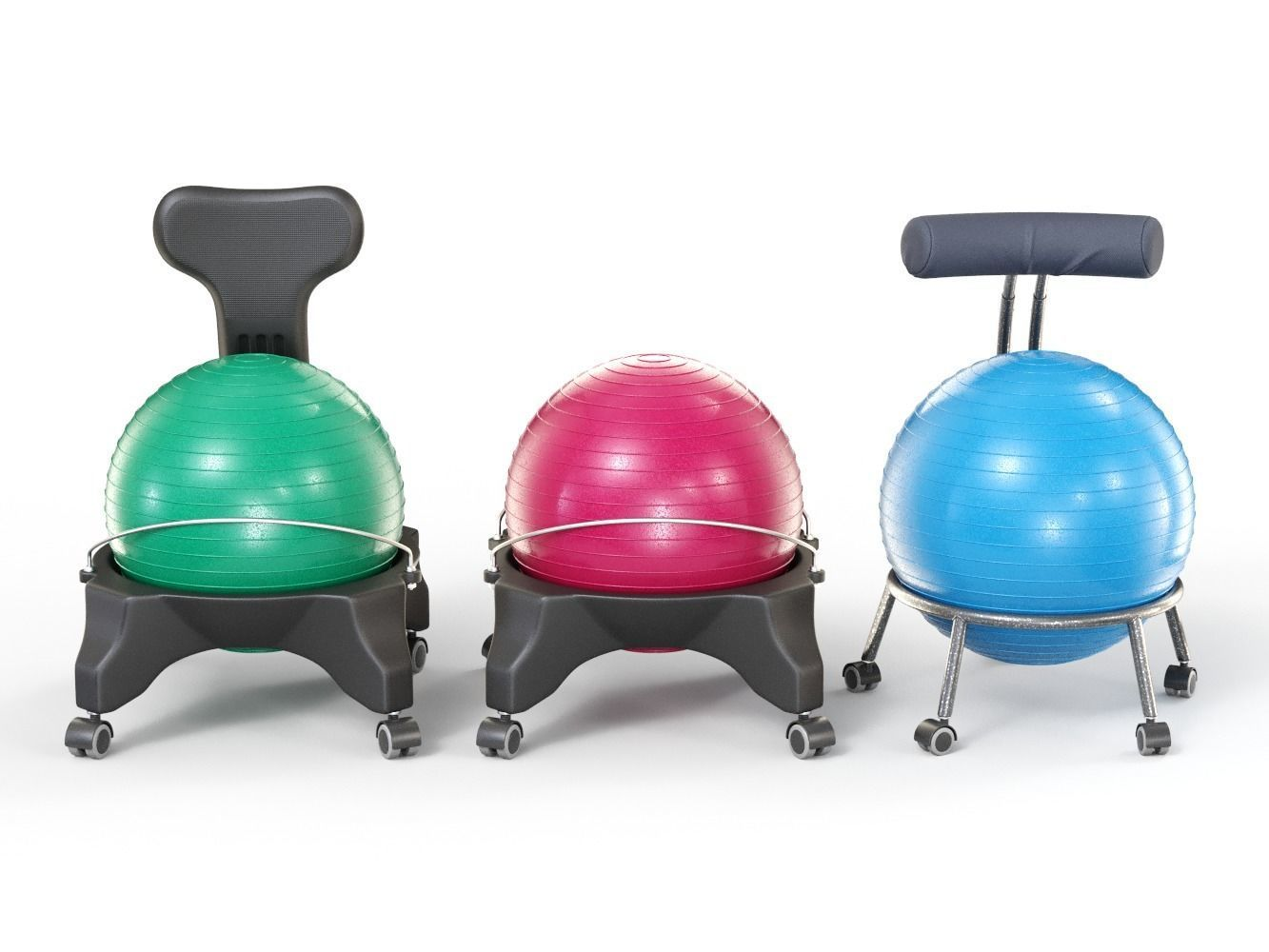 Model Exercise Ball Office Chairs