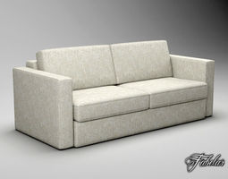 game-ready sofa free 3d model