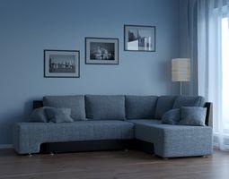 Big Sofa for living room 3D